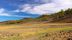 Mountains landscape, Gran Canaria island, Canary islands, Spain. Stock Footage