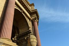 Palace of fine arts in san francisco california Stock Photos