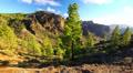 Mountains landscape, Tenerife island, Spain.. Footage