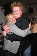 Tess Harper & Jake Busey - stock photo