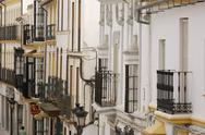 Stock Photo of Spain, Andalucia, House facades