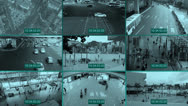 Stock Video Footage of cctv