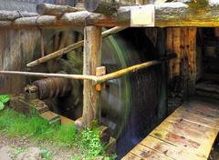 watermill - oblazy, slovakia - stock photo
