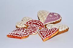 Stock Photo of decorated gingerbread