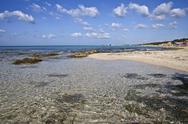 Stock Photo of Italy, Apulia, View of beach at Adriatic sea