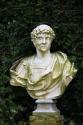 marble bust - stock photo