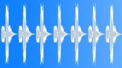Rapid alarm signals - sound effect