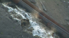 Industrial waste water. Stock Footage