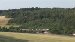 Chiltern Line train - stock footage