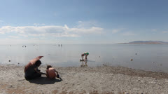 Time Lapse beach Stock Footage