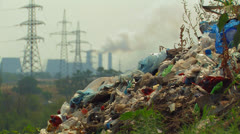 Global pollution. Stock Footage