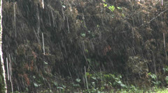 Rain falls heavily during a big storm. Stock Footage