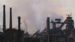 Global air pollution. Stock Footage