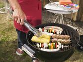 Stock Photo of man preparing barbecue