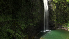 Hanakapia Falls - Kauai, Hawaii Stock Footage