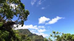 Na Pali Coast - Kauai, Hawaii Stock Footage