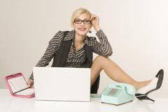 Businesswoman, portrait Stock Photos