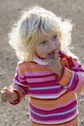 Little girl (2-3) years, portrait Stock Photos