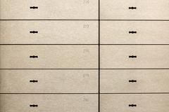 Safe-Deposit Boxes Stock Photos