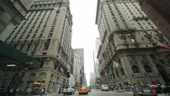 Stock Video Footage of Driving POV shot of New York City street Fifth Avenue