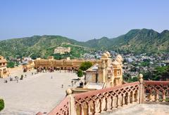 Stock Photo of amber fort, india