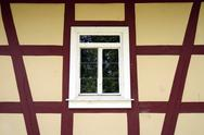 Stock Photo of Germany, Bavaria, Lower Franconia, Mombris, Half-timbered house
