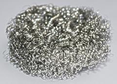 Fiber polished stainless steel 6 Stock Photos