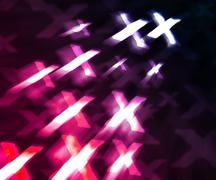 Pink xxx abstract background Stock Illustration