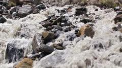 White mountain river (59.94 fps) Stock Footage
