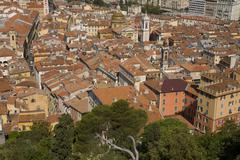 France, Cote d'Azur, Nice, Cityscape Stock Photos