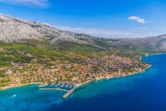 Orebic, Croatia Stock Photos
