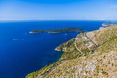 Dubrovnik surroundings Stock Photos