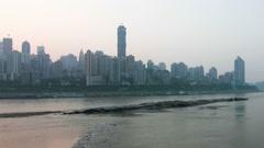 Modern City -- Chongqing Stock Footage