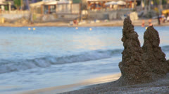 Sand hills Stock Footage
