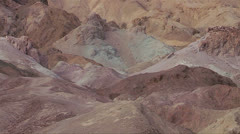 Stark landscapes at Death Valley National Park, California. - stock footage