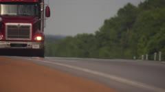Truckers - Bundle of Shots - stock footage