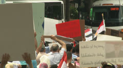 Morsi supporters Stock Footage