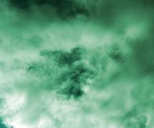 Monsoon sky image Stock Illustration