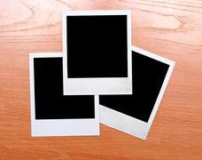 Polaroids Stock Photos
