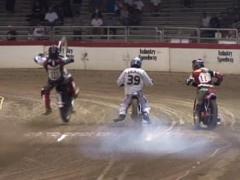 Moto Crash Stock Footage