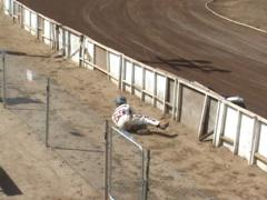Motorcycle Crash Stock Footage