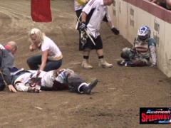 Moto Crash - stock footage