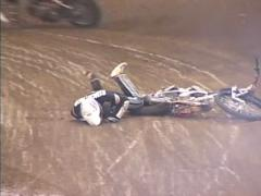 Moto Crash 10-H.264 Stock Footage