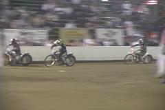 Moto Crash sandwish Stock Footage