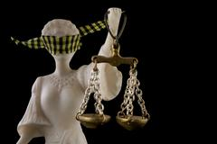 justice for legal rights - stock photo