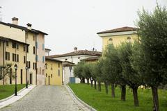 Traditional italian village Stock Photos