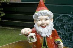 Goblin in the garden Stock Photos