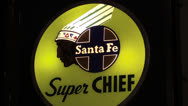Stock Video Footage of Santa Fe Super Chief