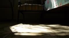 Timelapse of a sun beam Stock Footage