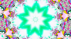 Many Colors Kaleidoscope Stock Footage
